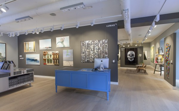 Interior de la galería Lumas Madrid (2)