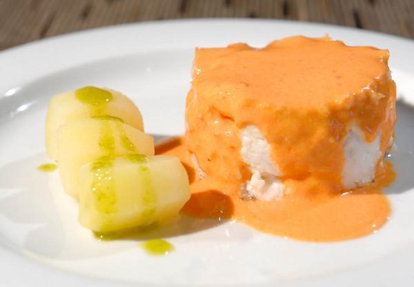 Merluza Salsa, Restaurante Normandie