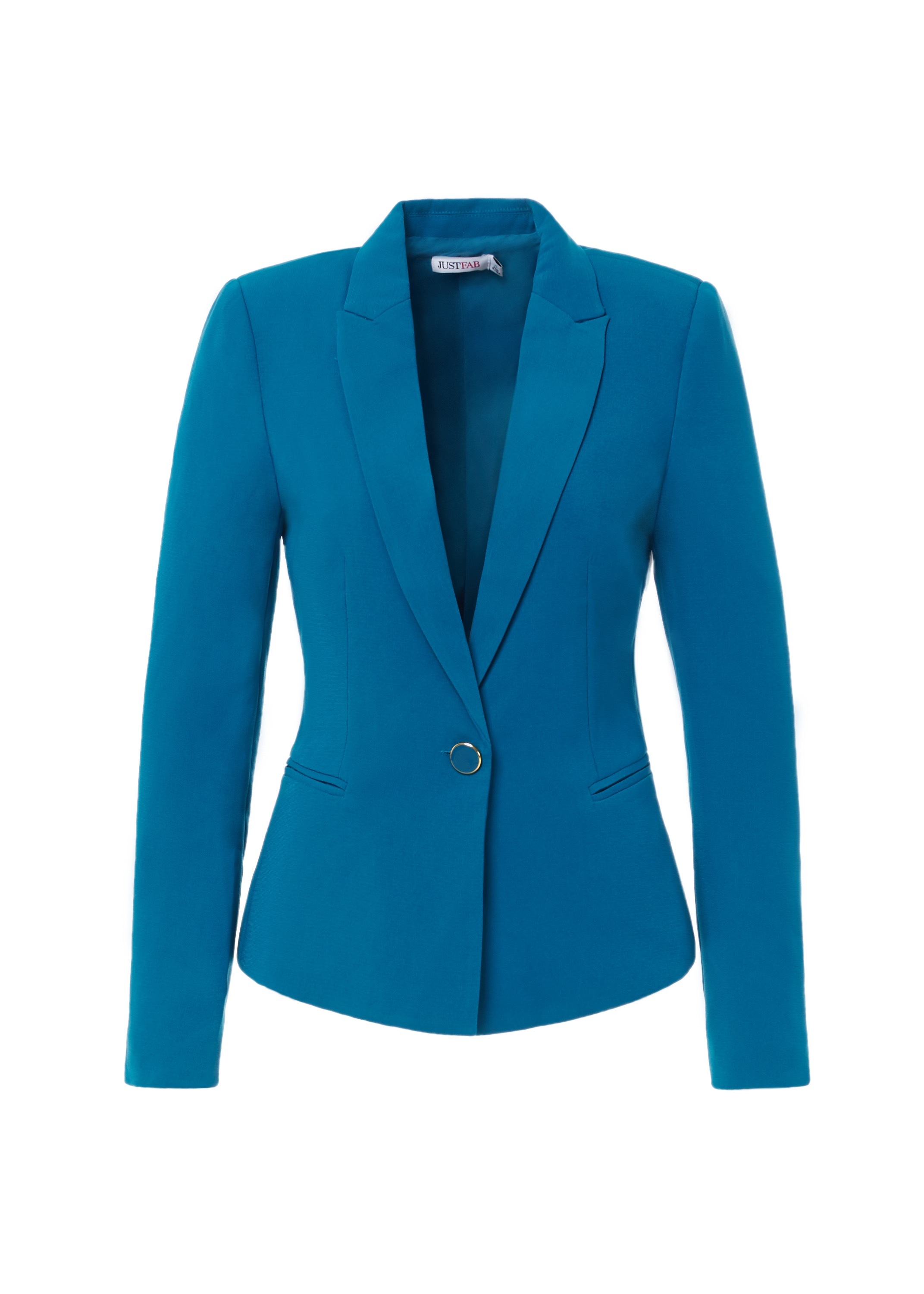 Tailored Classic Blazer in Dark Teal