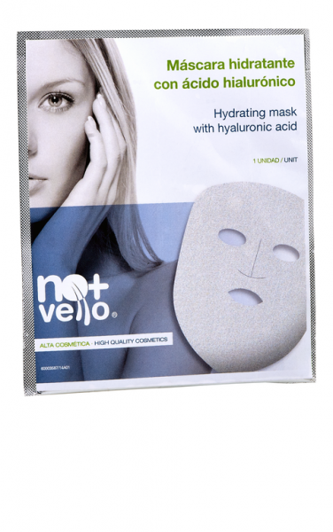 Mascara hidratante con Acido hialuronico
