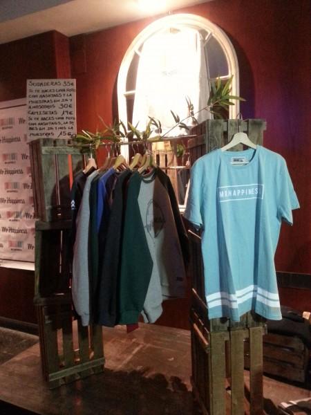 Camisetas y Sudades colección Informal de Mr. Happiness