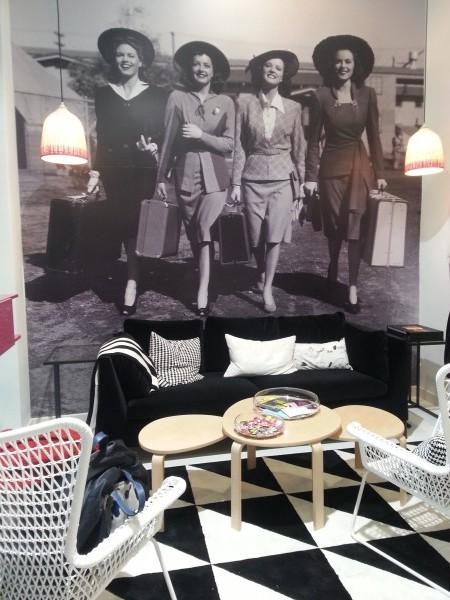 Recepción de Malasmadreshouse en el centro comercial Moda Shopping de Madrid