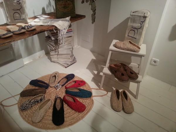 Colección de zapatos Pla de Irene Peukes