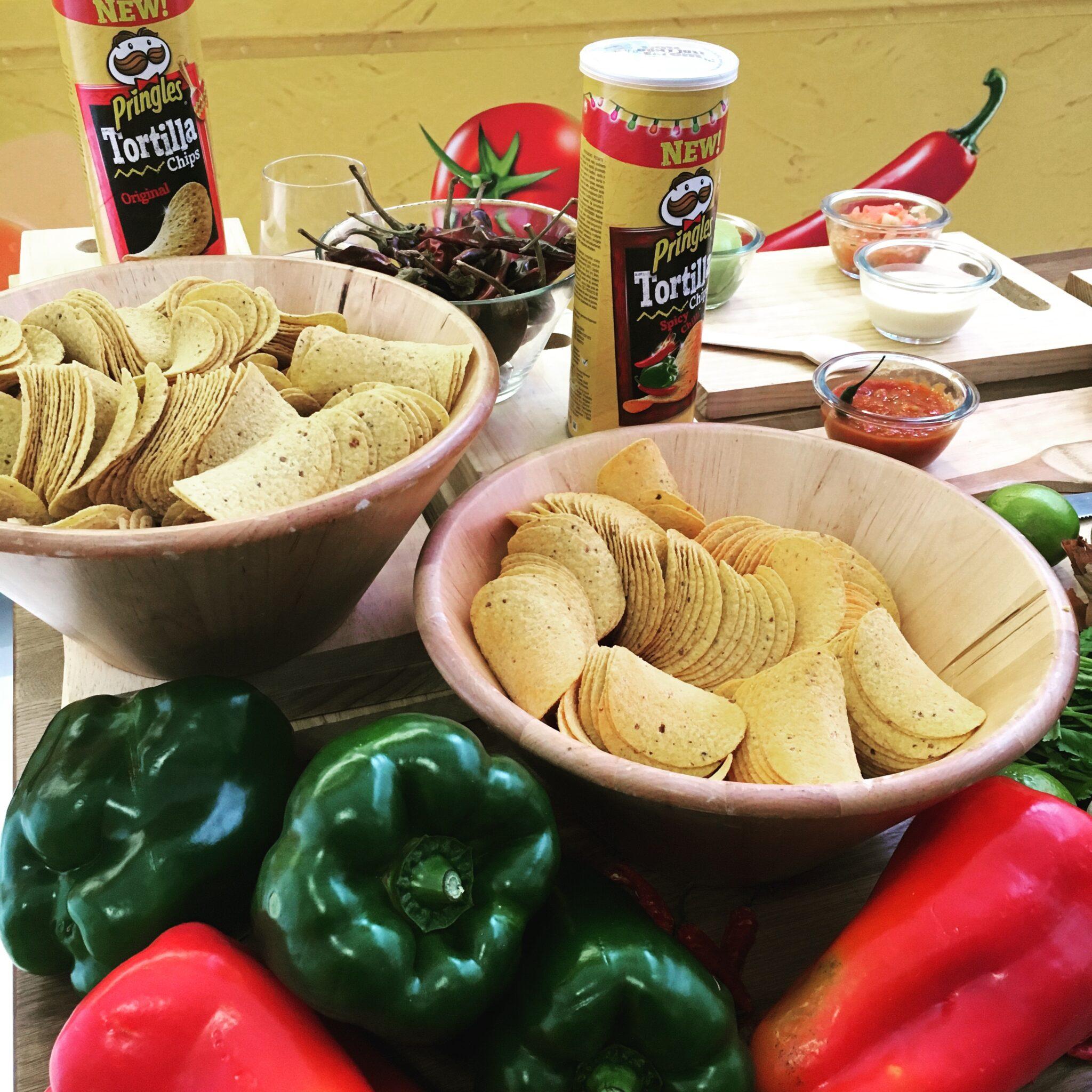 Presentación de las Pringles Tortilla