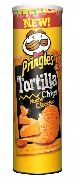 Pringles Tortilla sabor Nacho Cheese
