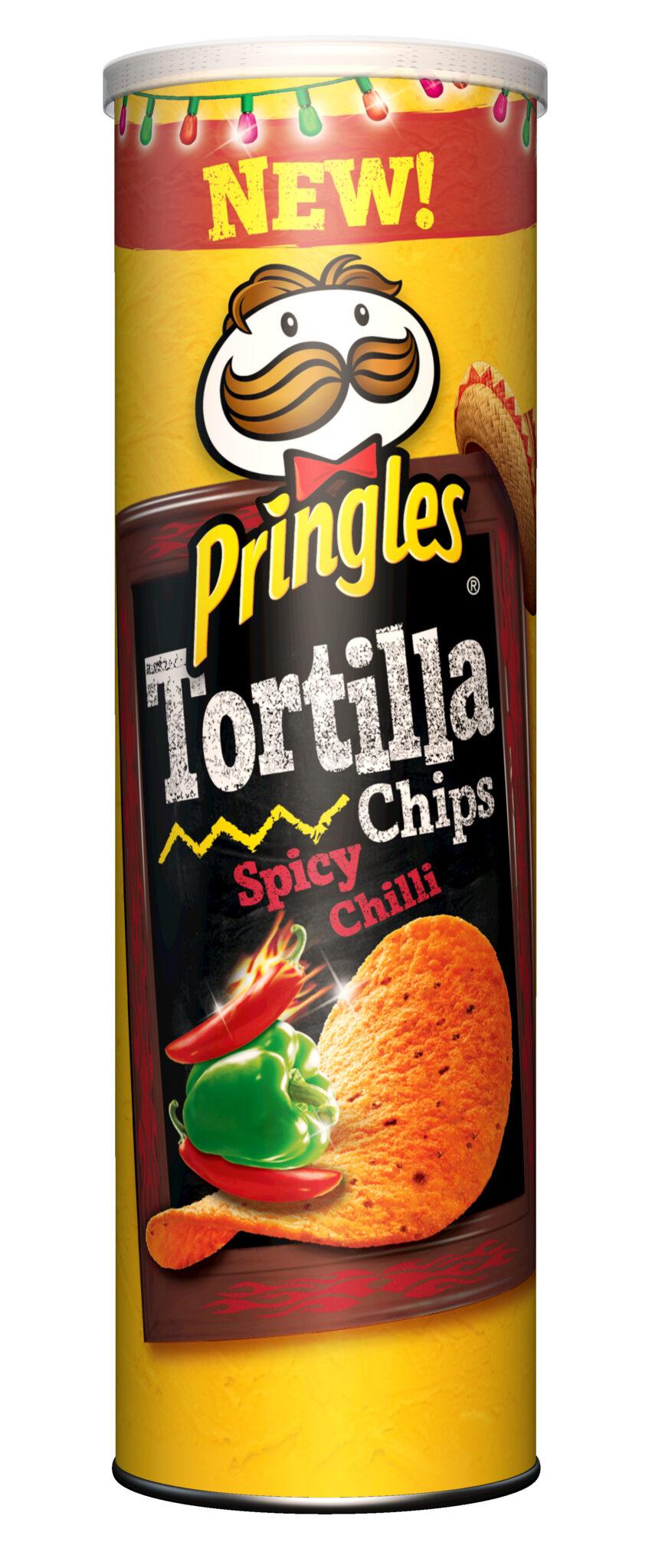 Pringles Tortilla sabor Spicy Chilli