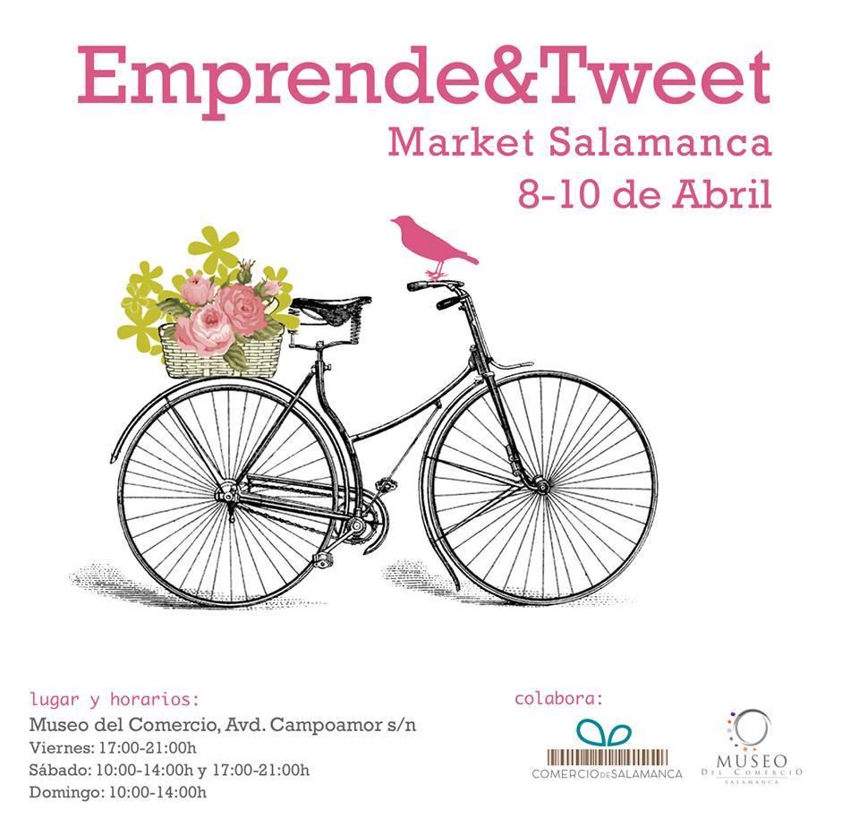 Presentación de la Asociación Emprende and Tweet en Salamanca