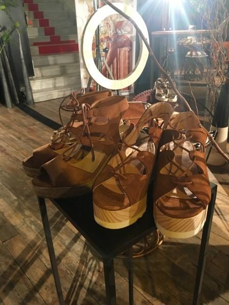 Presentación colección primavera- verano 2016 de Merkal Calzados