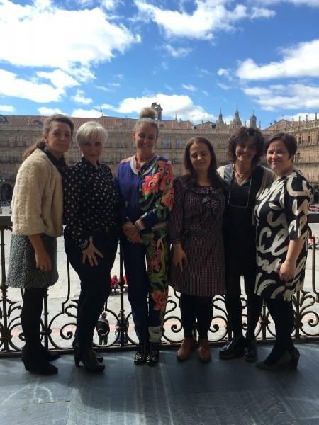 Junta Directiva de Emprende and Tweet con Carla Royo-Villanoba en Salamanca