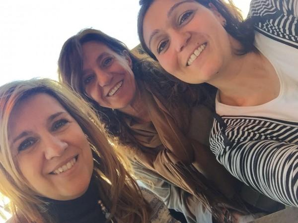 Victoria de Victoria Luguera Eventos, Almudena de la Tienda de Almudena y Lorena de A'telier