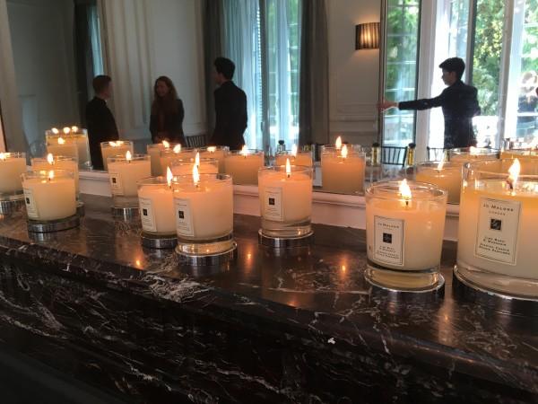 Presentación Rare Teas Colletion de Jo Malone en el hotel Santo Mauro