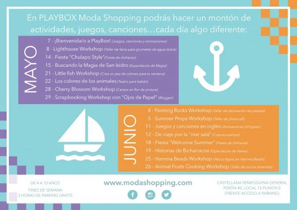 Ludoteca bilingüe en Moda Shopping
