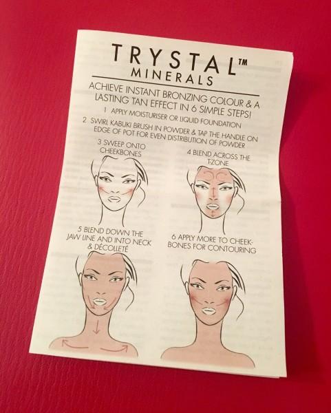 Como aplicar Trystal Minerals de Vita Liberata