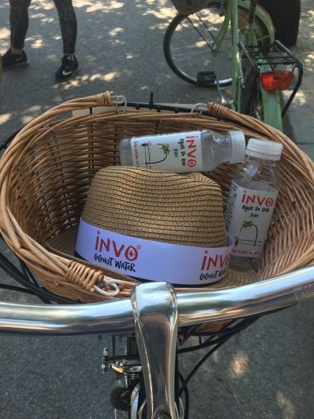 Evento de INVO agua de coco en el Parque del Retiro de Madrid