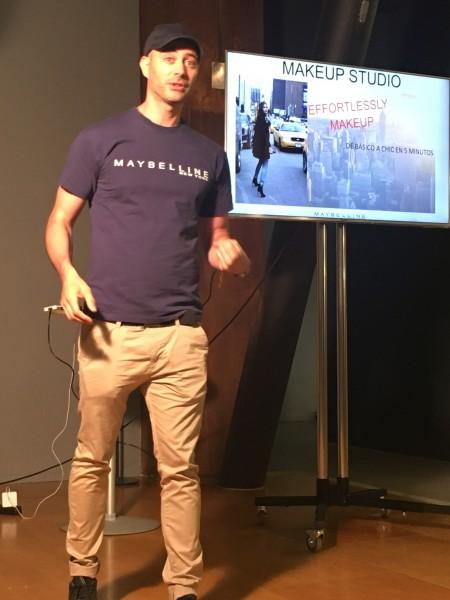 Presentación de Maybelline 2016
