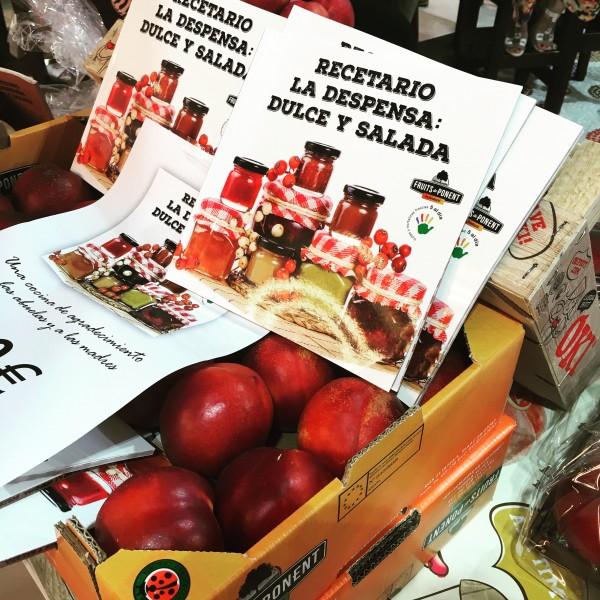 """Presentación del recetario """"La Despensa: dulce y salada"""