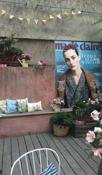 Presentación L'Occitane y La Flamme Marie Claire