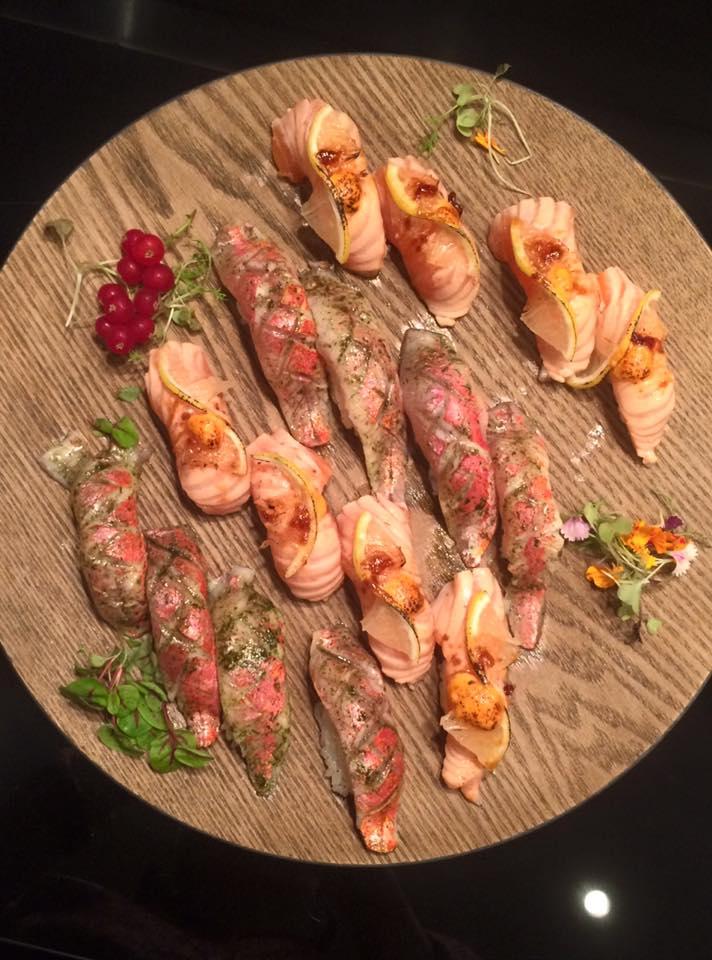 Latin-Sushi del Restaurante Minabo