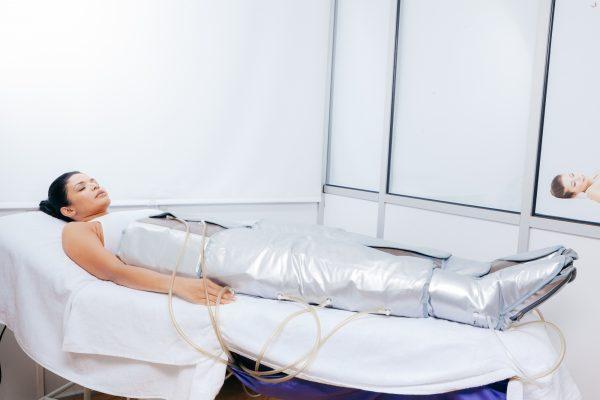 Tratamiento de presoterapia Clínica Ruano