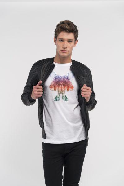 Camiseta-caballero-estampación-Clody