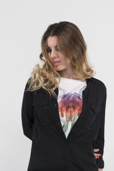 Camiseta-señora-estampación-Clody