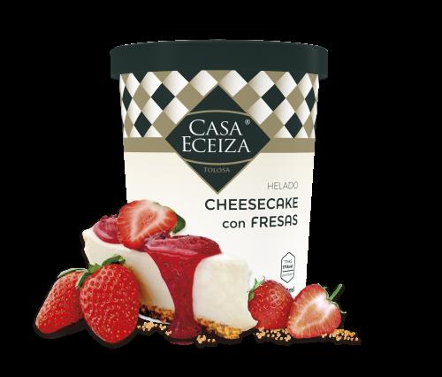 helado-cheesecake-con-fresas-de-casa-eceiza