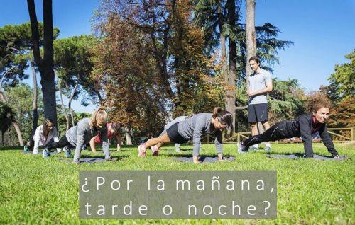 entrenamientos al aire libre de Epal