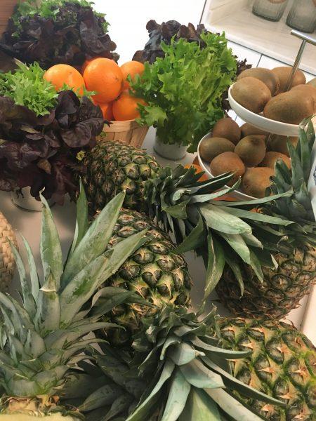 frutas y verduras verdes en Kilosout