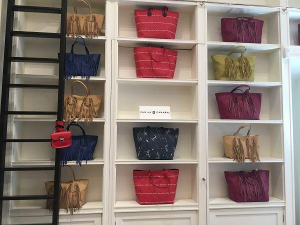 Colección de bolsos de Camila Canabal
