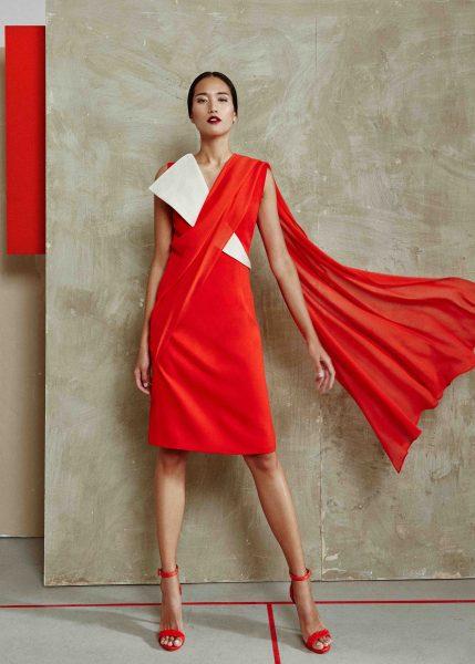 vestido-en-dos-colores-de-la-colección-SS2018-miguel-marinero