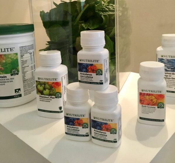 Imagen de la presentación de Arándanos con Luteína de Nutrilite