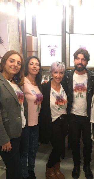 Jose Luis Tejedor, Isabel Aguilera, Nuria Neira y Beatriz Acinas