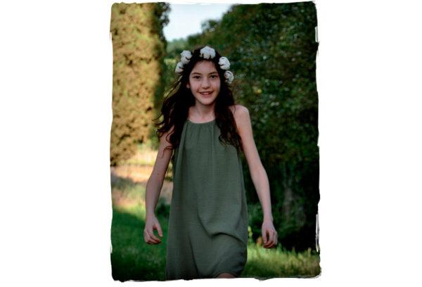 Vestido-verde-de-niña-de-Thula