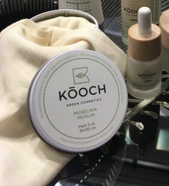 Contorno de ojos y muselinas de Kooch-Green-Cosmetics